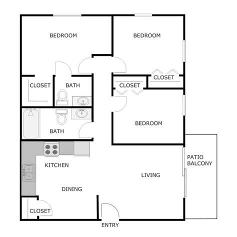 bedroom  bath apartment woodbury village apartments