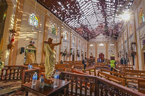 islamic state claims responsibility  sri lanka bombings