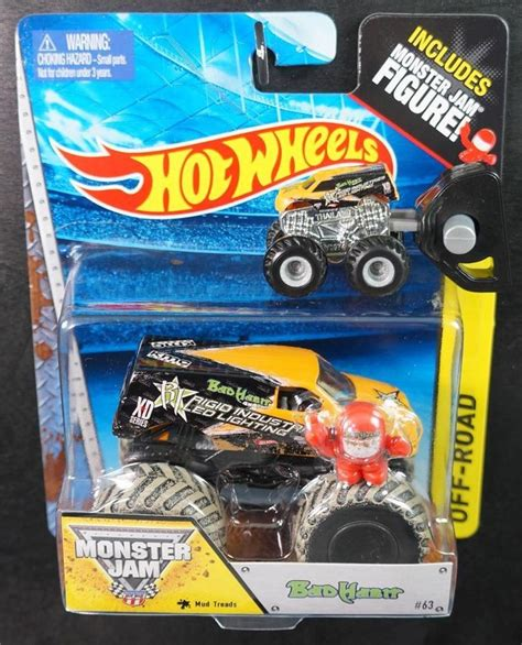 monster jam trucks wheels wheels lot of 2 monster jam monster trucks bad habit 1