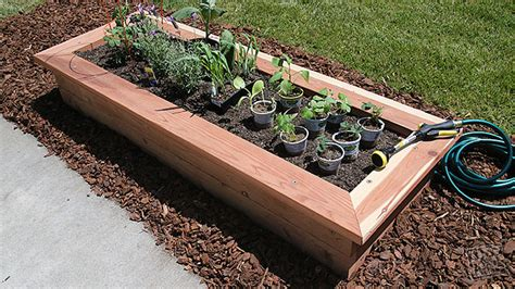 Mobile Kitchen Island Plans Raised Garden Bed Diy Done Right