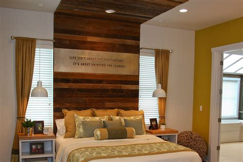 makeover home edition reclaimed wood paneling