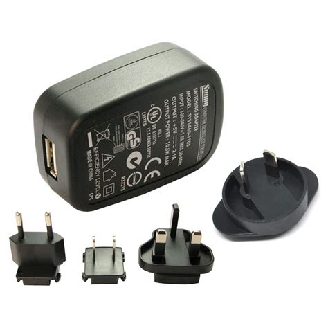 Adaptor Charger 5v 2 1a Micro Usb With Eu Uk Us Au 1 adaptor charger 5v 2 1a micro usb with eu uk us au black toko fatih