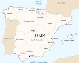 map of spain and regions spain region map free images at clker vector clip royalty free domain