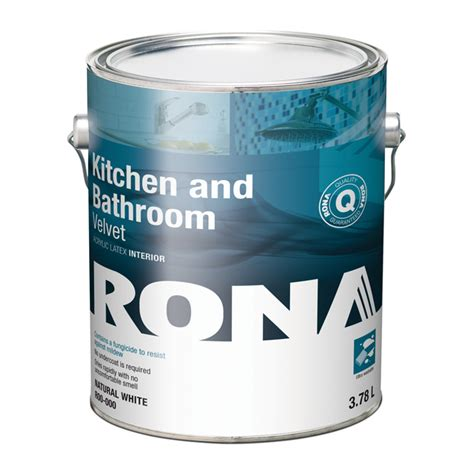 kitchen and bathroom paint rona