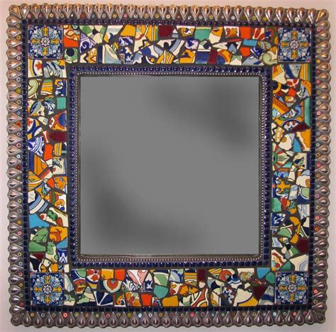 bathroom mirror mosaic frame 25 best ideas about tile mirror frames on pinterest