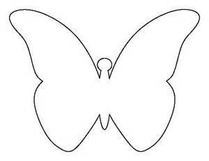 butterfly stencil template flying butterfly pattern use the printable outline for