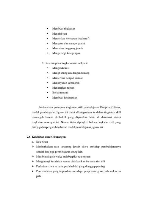makalah membuat ringkasan makalah metode pembelajaran jigsaw