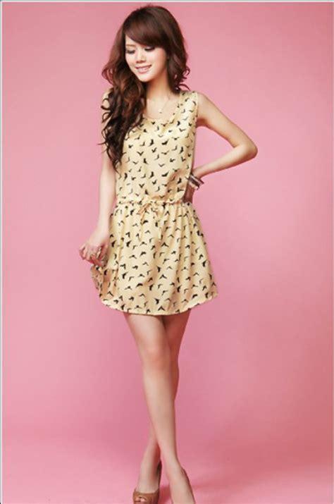Dress Owl Korea summer mini dress dress yp