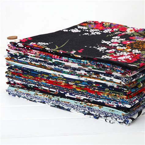 Landscape Fabric Water Absorption Cotton Cloth Garment Fabric Soft Strong Moisture