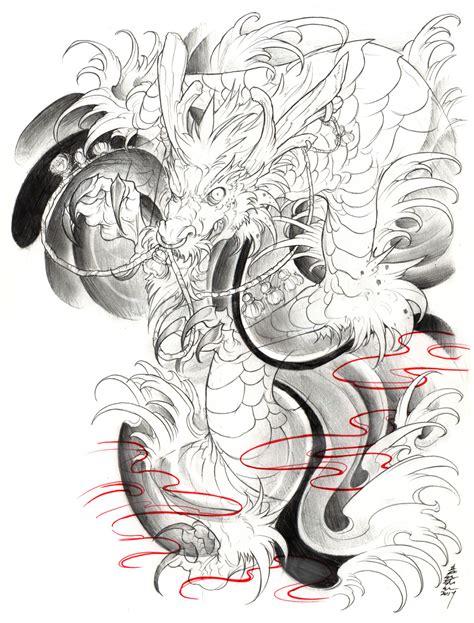 yakuza tattoo design book irezumi dragon 003 001 by fydbac deviantart com on