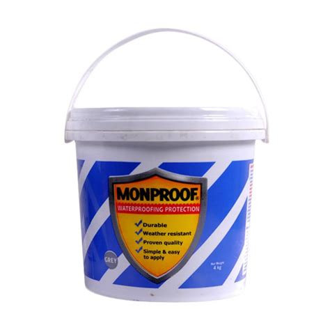 Damdex Pelapis Anti Bocor Jual Monproof Cat Pelapis Anti Bocor Bahan Bangunan Grey