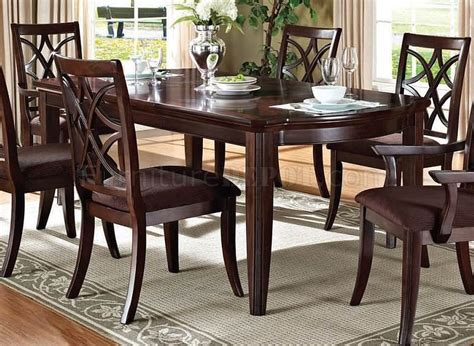 keukenhof dark walnut round pedestal dining room set round dining table set for 4 luxury classic carved round