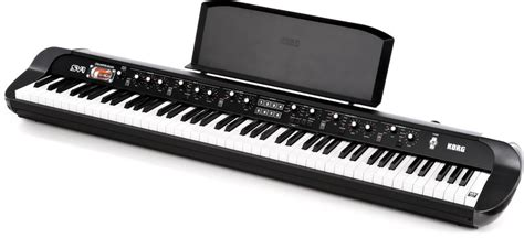 Keyboard Korg Sv1 korg sv1 88 black thomann uk