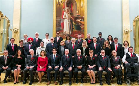 canada s new cabinet is half because it s 2015 pm