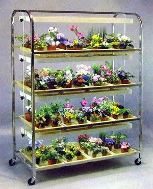 growers supply  shelf  tray full sized lighted