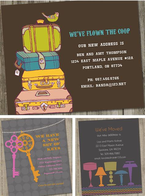 printable moving postcards moving cards make practical realtor closing gifts