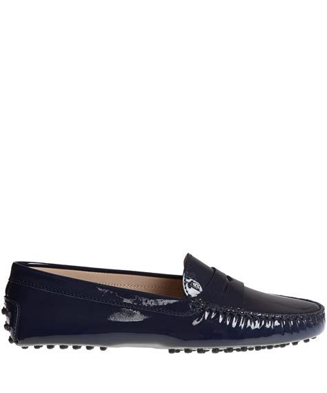 tod s 58181309 mocassino in black for lyst
