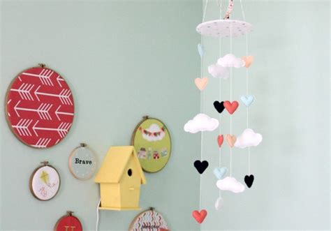 Handmade Baby Mobiles Australia - 11 beautiful baby mobiles for the nursery from etsy
