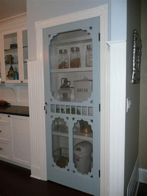 screen door pantry   farmhouse kitchen