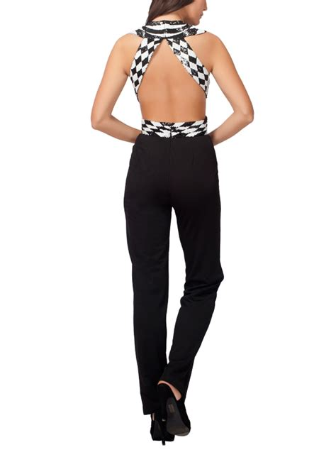 Jumpsuit Gaudhi kashmiraa stylish checkered jumpsuit shop jumpsuits at strandofsilk
