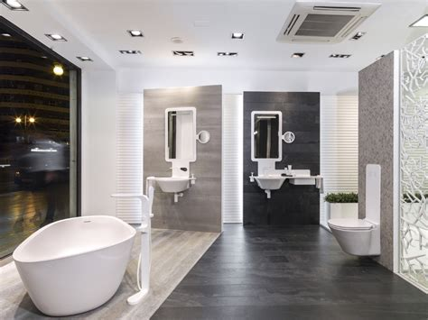 krion 174 pr 233 sent dans le showroom de porcelanosa valence