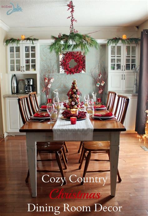 dining room decorations creating a cozy country dining room sober julie