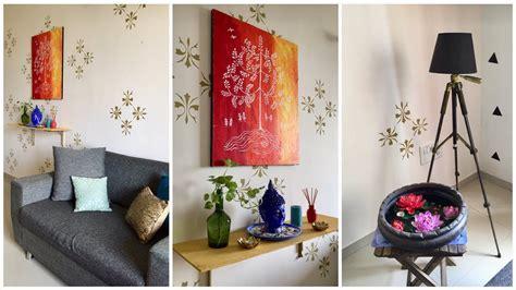 indian living room makeover  budget diwali decoration