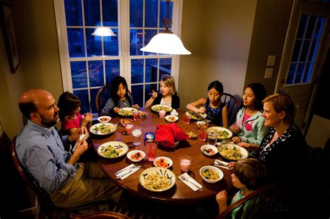 the dinner family dinner treasured tradition or bygone ideal