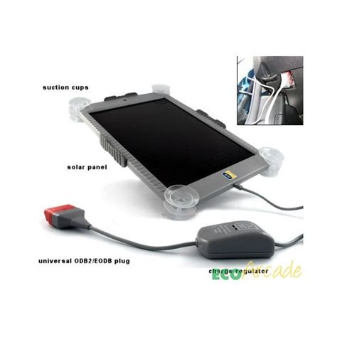 solar charger car battery solar car battery trickle charger by icp keeps you mobile