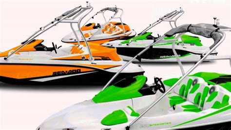 sea doo boats parts sea doo boats new speedster 150 youtube