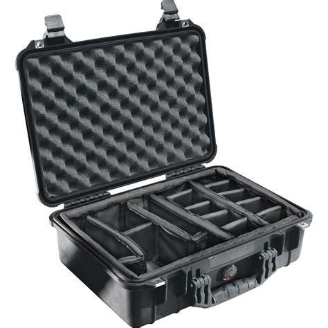 pelican 1504 waterproof 1500 case with padded black 1500