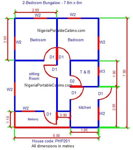 make a house plan bungalow floor plans nigeria free bungalow house plans