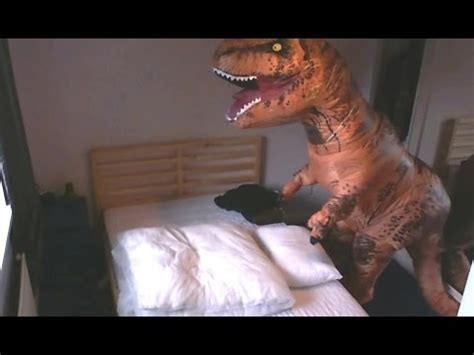 t rex trying to make a bed t rex makes a bed youtube