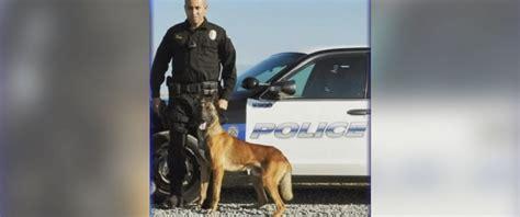 Officer In California by Beloved California K 9 Officer Dies In Car Tragedy