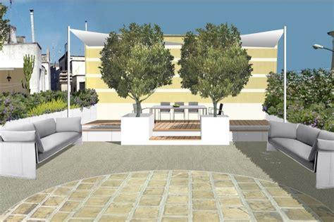 allestire un terrazzo arredare un terrazzo con confini e barriere naturali