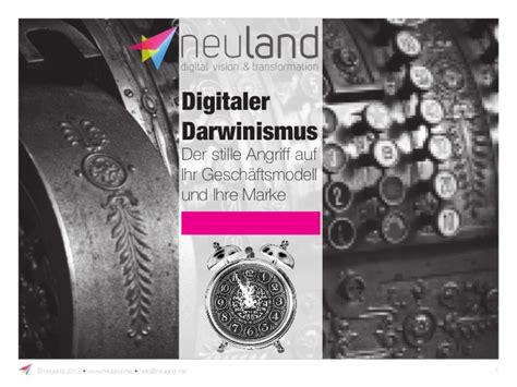 neuland gmbh co kg sbd 14 digitaler darwinismus karl heinz land neuland