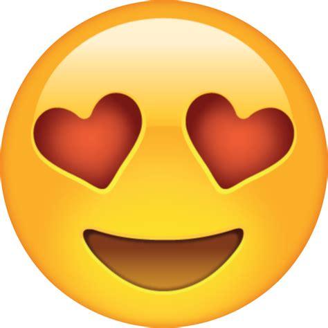 emoji love png heart eyes cartoon www imgkid com the image kid has it