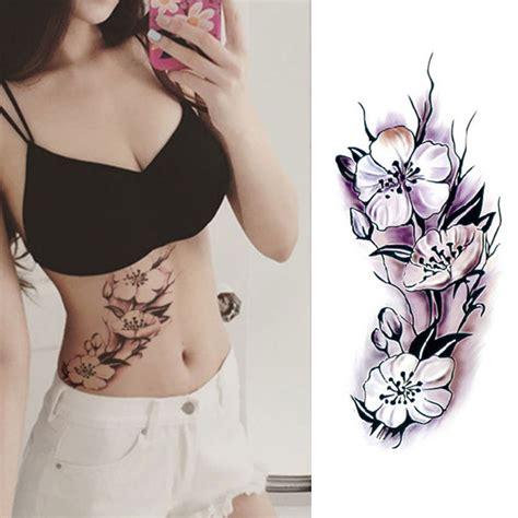 temporary tattoo paper nyc temporary tattoos body sticker tattoo paper black rose