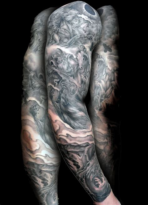 grey sleeve tattoo designs sleeve images designs