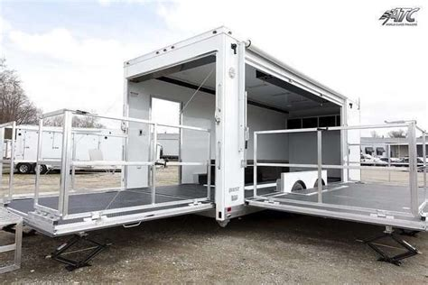 Awning Boat Mobile Marketing Trailers Custom Trailers Mo Great Dane