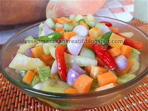 cara membuat yogurt wortel resep acar timun mentah wortel dan nanas menu penting