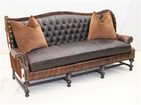 old hickory tannery leather sofa tufted patchwork leather sofa old hickory tannery