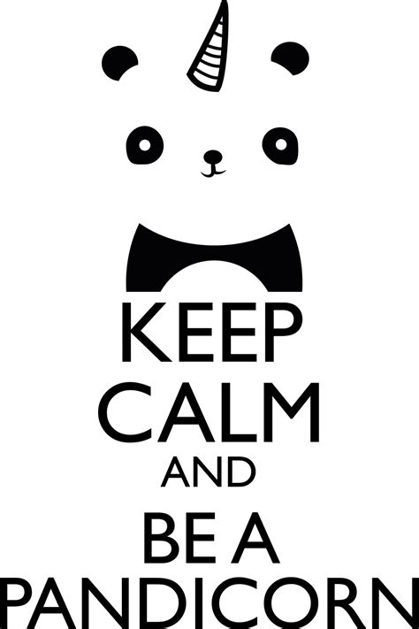 imagenes de keep calm and love minions keep calm and be a pandicorn by elkaede on deviantart