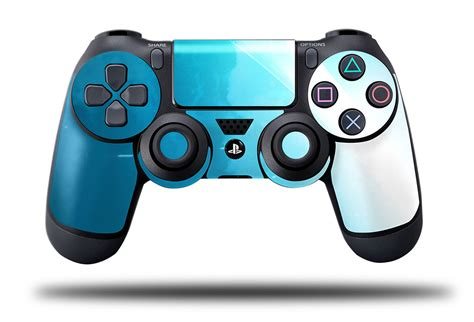 ps4 controller blue light e skins play station 4 ps4 gaming console skin light