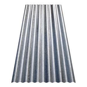 8 ft. Corrugated Galvanized Steel Utility Gauge Roof Panel