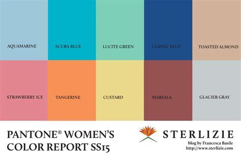 pantone color forecast colori della prossima primavera pantone color report ss15
