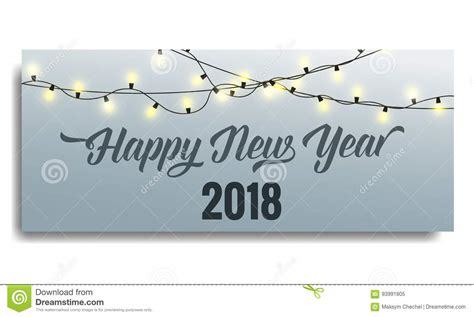 new year template 2018 new year 2018 invitation card template with glowing