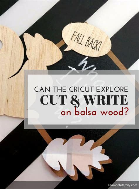 Which Cricut Can Cut Vinyl - can the cricut explore air cut and write on balsa wood