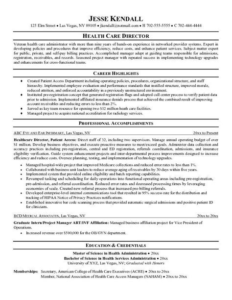 exle of healthcare resume health care resume objective sle http