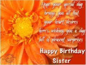 Happy birthday sister wishbirthday com